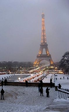 Paris at Christmastime.. Beautiful!