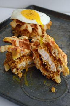 Serve up sliders for breakfast. | 24 Mind-Blowing Ways To Eat Chicken And Waffles