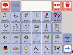 Symbol Talker B (Grid Player) Free Communication App for iPad/iPhone