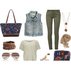 """""""Out for the Day"""" by sakroots on Polyvore"""