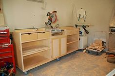 My Ultimate Miter Station - Woodworking | Videos | Plans | How To