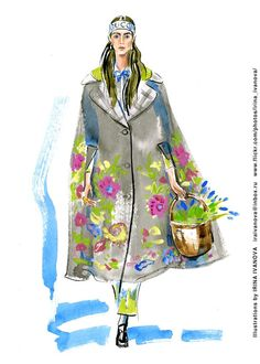 https://flic.kr/p/RT9Tpj | img834 | Gucci Fall 2017 Ready-to-Wear Collection. #runway #Gucci #FALL2017 #readytowear #fashionillustration #illustration #fashion #model #suit #dress #coat #hat #accessory #umbrella #fun #drawing #clothes #watercolor #ink #fashionshow #fashionillustrator #иллюстрация #мода #одежда #artworkforsale #artwork #instafashion #fashioninsta