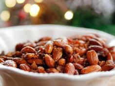 Sweet Spicy Smokey Roasted Almonds Recipe | Ree Drummond | Food Network