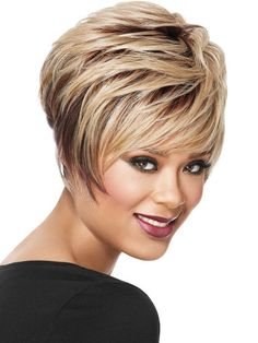 short+stacked+haircuts | Stacked Bob Haircut | stacked bob is a playful short style stacked ...