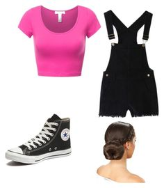 """""""I think"""" by mdancelife014 ❤ liked on Polyvore featuring Converse"""