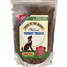 Grain Free Dog Treats Made In USA Only - All Natural, Healthy Crunchy Turkey Sticks Dogs Love! (16 Ounces)