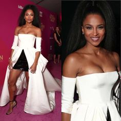 Ciara (@ciara ) attends the 2017 Billloard Women In Music in a #dress by Vera Wang (@verawanggang ) #shoes #hair #makeup #photo #losangeles #instafollow #film #song #instalike #beauty #redcarpet #event #night #awards #moda #instadaily #beautiful #famous #fashion #style #celebrity #glamour #instagood #smile #actress #singer #model #movie #ciara