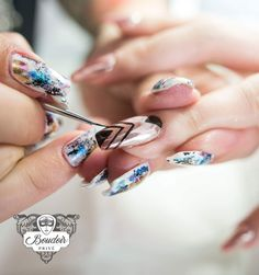 Artistic nail art fashion in trends today