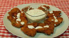 Pollo frito con crema agria receta fácil