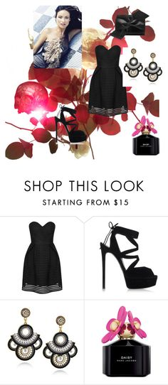 """""""Bez naslova #9"""" by fatasalihovic ❤ liked on Polyvore featuring Glamorous, Casadei, Marc Jacobs and Victoria Beckham"""
