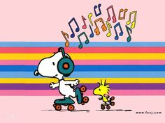 Snoopy & Woodstock - Roller Skating & listening to the music soon in Mundo sobre Ruedas santo domingo! Cartoon Wallpaper, Snoopy Wallpaper, Hd Wallpaper, Computer Wallpaper, Wallpapers, Peanuts Cartoon, Peanuts Snoopy, Peanuts Comics, Happy Thursday Images