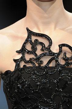 cinderellas-stilettos:  sedisim:  Giorgio Armani Prive, spring 2009  ۞ Cinderella's Stilettos ♛ Fashion & Luxury ۞