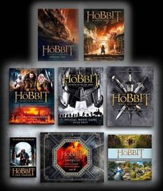 New 'The Battle of the Five Armies' Book Covers Released
