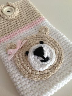 Crochet Hangable Cell Phone Cozy by ItsyKnitsyStore on Etsy, $19.99