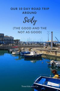 Our Ten Day Itinerary for Traveling Sicily with Kids (the Good and the Not as Good Choices) - Three Kids and A Car Europe Destinations, Positano, Amalfi, Sicily Italy, Verona Italy, Puglia Italy, Venice Italy, Road Trip Hacks, Road Trips