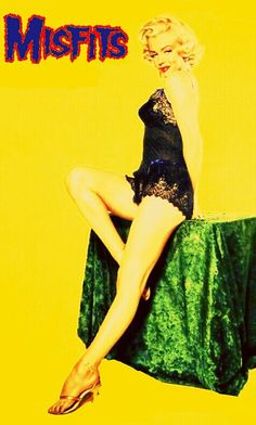 Misfits - Marilyn Monroe Yellow.
