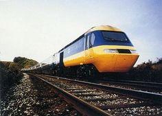 British Rail 125 High Speed Train by Kenneth Grange. National Rail, Rail Europe, Rail Train, Train Service, Railway Posters, British Rail, Train Pictures, Diesel Locomotive, Train Tracks