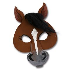 Hier kommt die perfekte Verkleidungsidee für alle Pferde-Fans:http://www.trendmarkt24.de/kindermasken-pferd-6er-pack.html#p #Fasching #Pferdemaske
