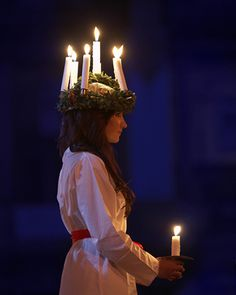 The wonderful traditions of 'The Feast of St Lucia' fill Sweden on December 13th.