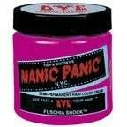 Manic Panic Semi- Permanent Hair Dye Fuschia Shock