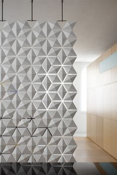 lightfacet room divider by blooming