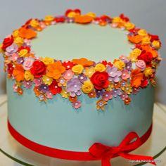 Cupcake: Aniversários floridos!