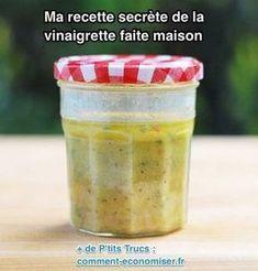 My Secret Recipe of Homemade Vinaigrette. Salad Dressing Recipes, Salad Recipes, Nicoise Salad Dressing, Vegan Recipes, Salat Nicoise, Marinade Sauce, Homemade Dressing, Calorie Counter, Stuffing Recipes