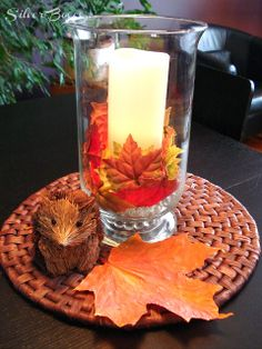 Silver Boxes: Fall Decorating - A Belated Tour