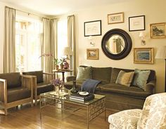 I love everything that this room has to offer. I love the decor, wood floors, and the furniture. I think this room show's class and style without over doing it.