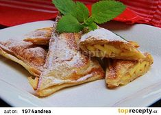Štrúdl pro samotáře recept - TopRecepty.cz Ham, French Toast, Treats, Breakfast, Ethnic Recipes, Sweet, Food, Czech Republic, Fine Dining