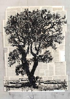 William Kentridge Lie of the Land x