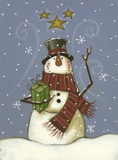 The Cranford Group Snowman Gifts Garden Flag Christmas Balls, Christmas Art, Christmas Wreaths, Christmas Decorations, Christmas Ornaments, Holiday Decor, Snowman Christmas Trees, Xmas, Pintura Country