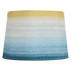 "$19.99 Online Price Threshold Lamp Shade Ombre Pattern Printed  - Blue(Medium).   9.0 "" H x 11.0 "" W x 8.0 "" Dia  For Rope lamp"