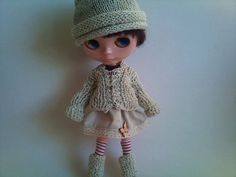 Hat and jacket 2 piece set for Blythe