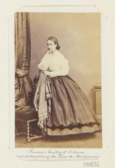 Princess Amélie d'Orléans (1851-70), second daughter of the Duc de Montpensier