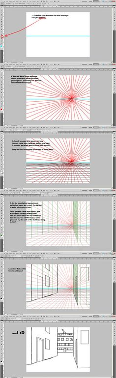 One point perspective tutorial by SilvesterVitale on deviantART