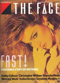 Madonna - The Face Magazine (February 1985)