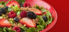 Pretty Life Anonymous: Zupas copy cat Nuts about Berries Salad Recipe