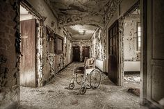 Abandoned asylum - What has become by Gary Heller #urbex #decay