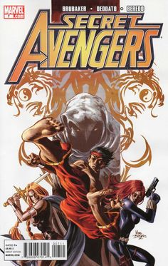 Secret Avengers #7 - Eyes of the Dragon, Part 2 of 5 (Issue)