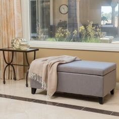 Shop for Breanna Fabric Storage Ottoman by Christopher Knight Home. Get free shipping at Overstock.com - Your Online Furniture Outlet Store! Get 5% in rewards with Club O! - 19263638