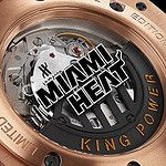 Hublot extremely limited edition King Power Miami Heat Chronogrpah http://www.thetoptier.net/index.php/home/215-limited-edition-hublot-king-power-for-basketball-fans