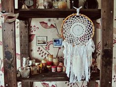 Mermaid Dreamcatcher   Bohemian Home Decor  от iCatchUrDream, $44.00