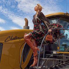 Boho Maxi A Line Long Sleeve Dresses - Power Day Sale #newin #newarrivals #justdropped #newseason #fashionintrend Maxi Outfits, Maxi Dresses, Fashion Outfits, Bohemian Pattern, Chiffon Dress, Print Chiffon, Floral Sleeve, Girls Party Dress, Fall Fashion Trends