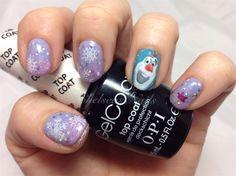 Frozen Olaf - Nail Art Gallery