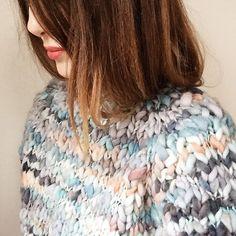 GOODNIGHT, DAY handmade by Canadian knitwear designer Tara-Lynn Morrison #adelineloves #knitwear #loveindependents #womancan #madeincanada