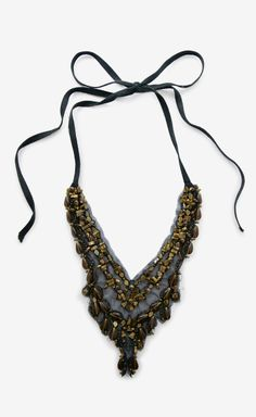 Vera Wang Black And Brown Necklace