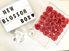 Eternity roses makeup /jewelry box /home decor / @theblossomboxinc