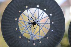 spider web crafts for kids | No Wooden Spoons: Paper Plate Spiderwebs {Kid Craft}