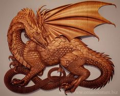 Elegant wooden dragon will be a memorable original decoration of your interior. It is a unique art design! Our dragons are warm and kind. And they smell good honey beeswax. The Dragon size is cm In inches it is inch x inch x inch Wood Carving Designs, Wood Carving Patterns, Dragon Glass, Dragon Art, Large Wood Wall Art, Wood Art, Dragons, Sculptures, Lion Sculpture